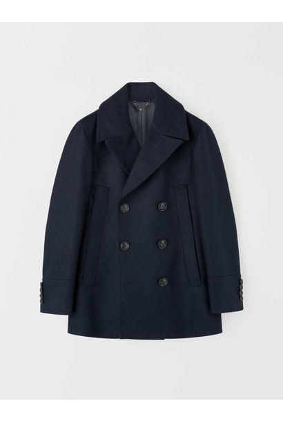 Thielo Wool Peacoat Light Ink Blue