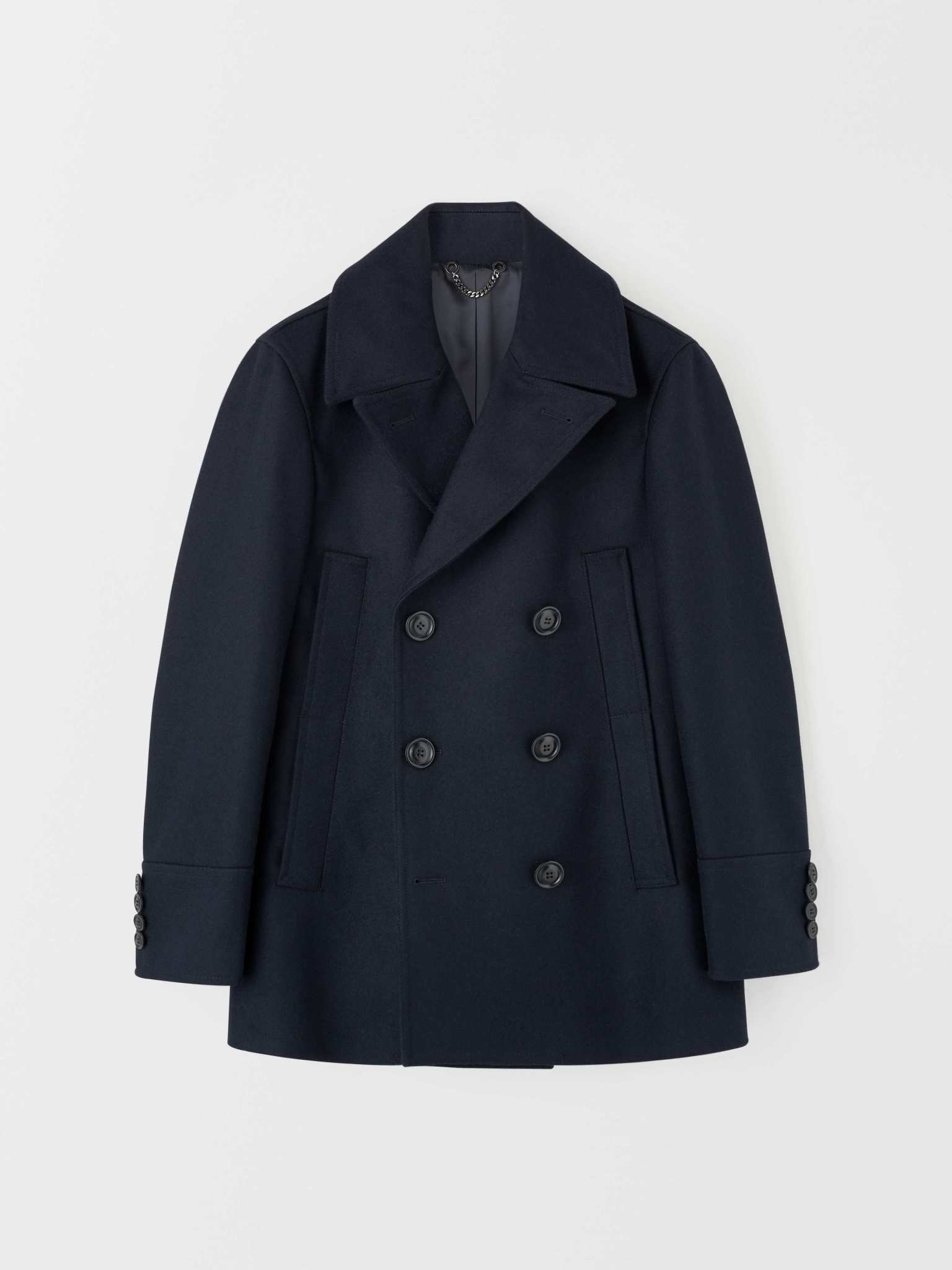 Thielo Wool Peacoat Light Ink Blue-1