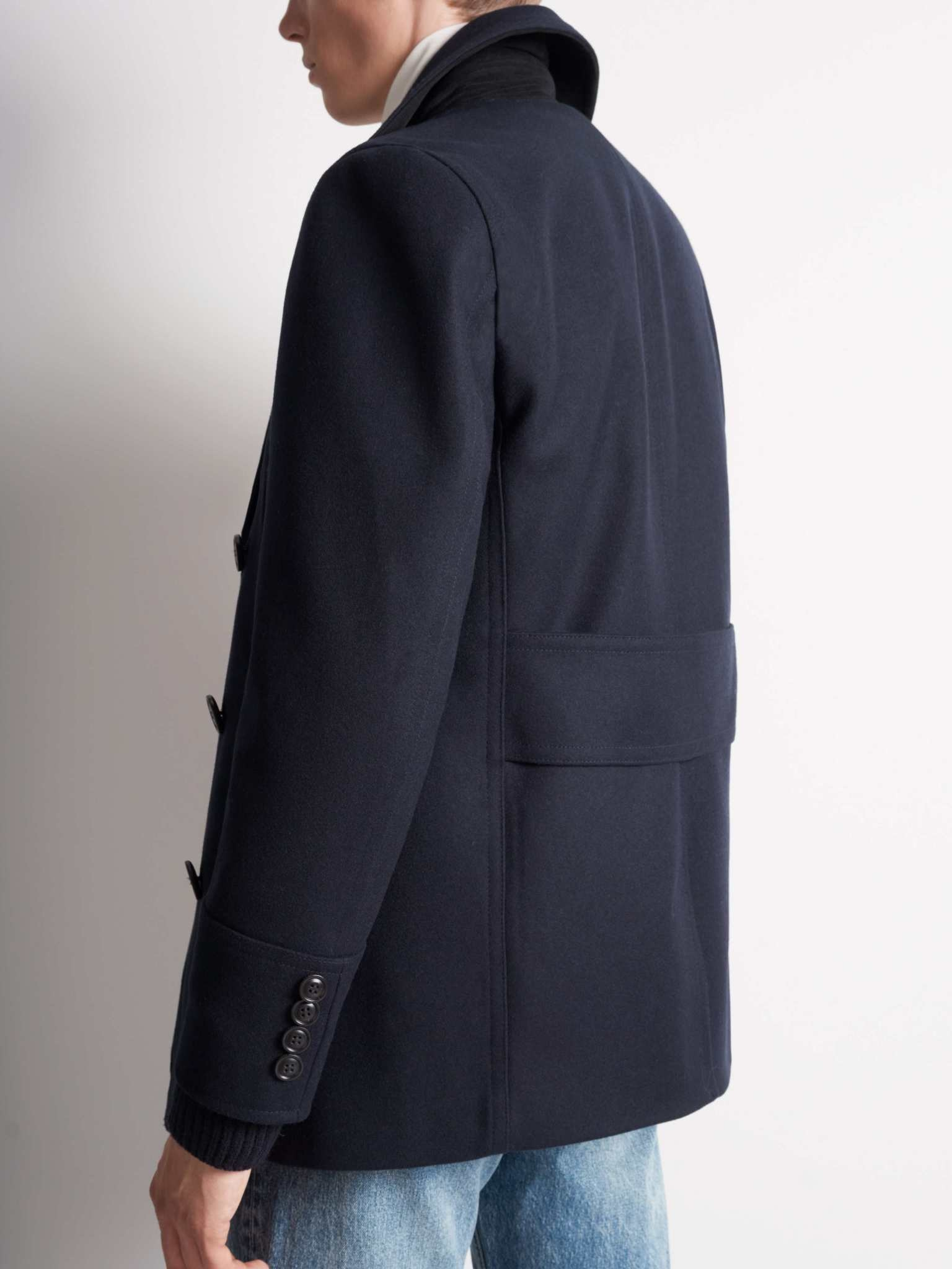 Thielo Wool Peacoat Light Ink Blue-5