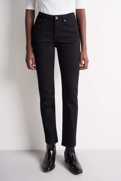 Meg High Waist Black Jeans
