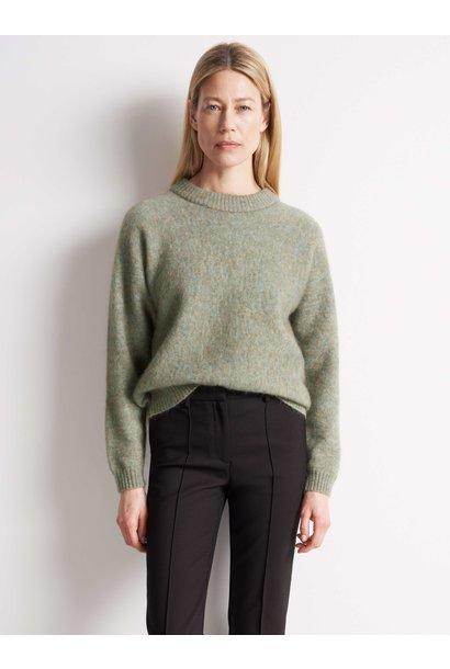Gwynn Pale Jade Green Wool Knitwear