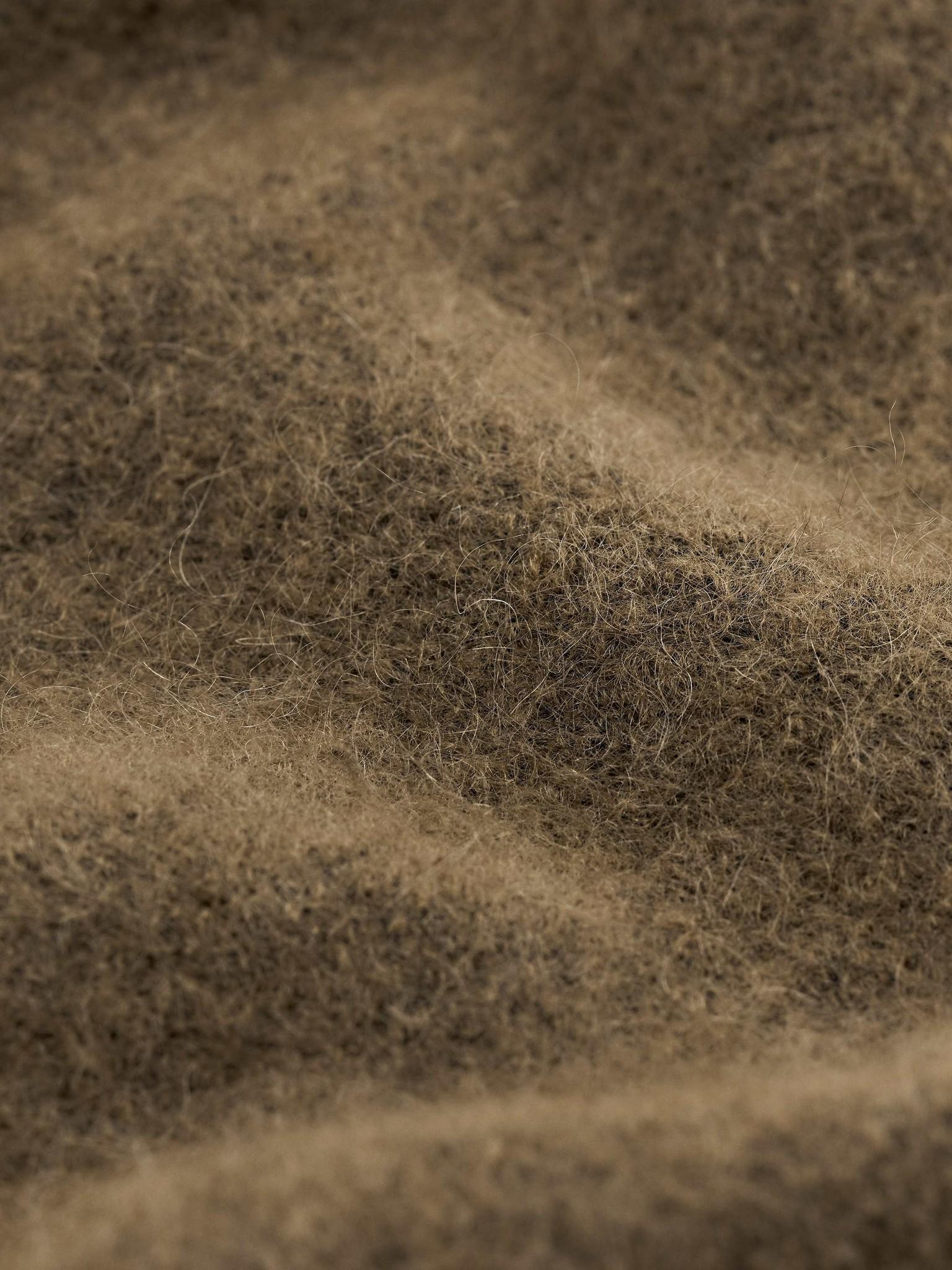 Gwynn Nut Brown Wool Knitwear-2