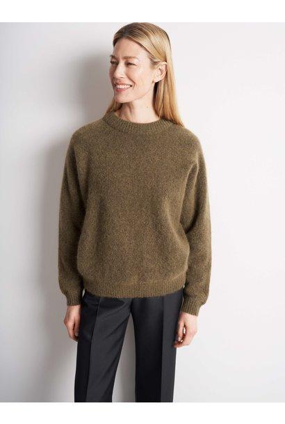 Gwynn Nut Brown Wool Knitwear