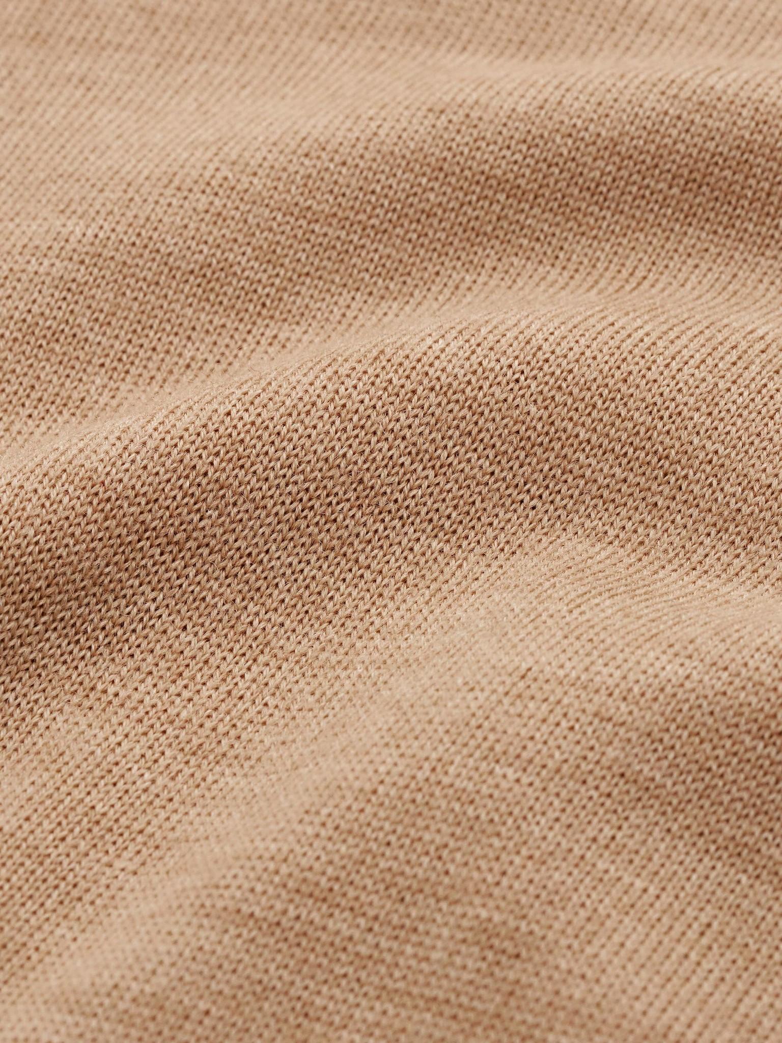 Nevile Macchiato Brown Turtle Neck Wool-3