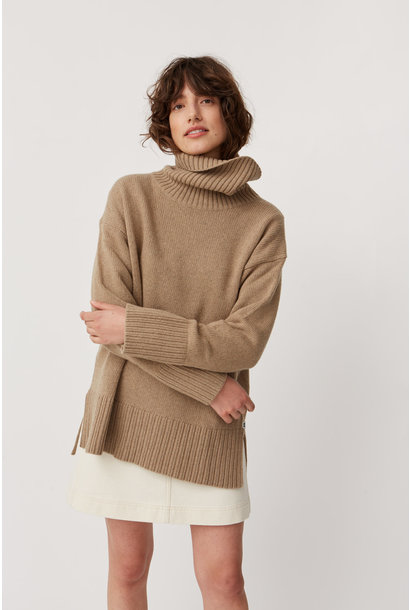 Pauline Jumper Khaki Brown