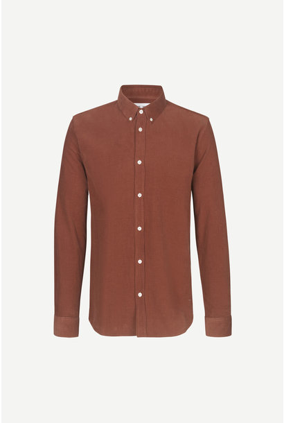 Liam BX Shirt Cinnamon Brown Corduroy