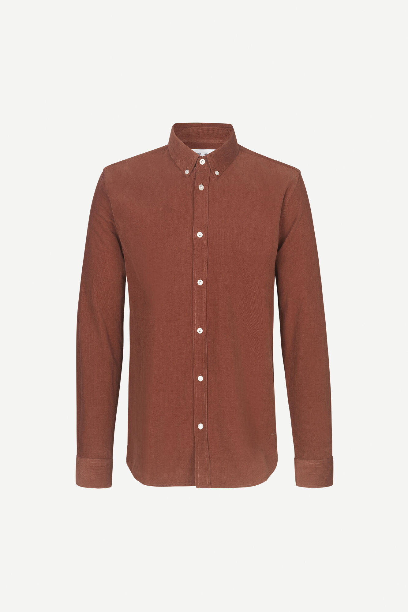 Liam BX Shirt Cinnamon Brown Corduroy 10504-1