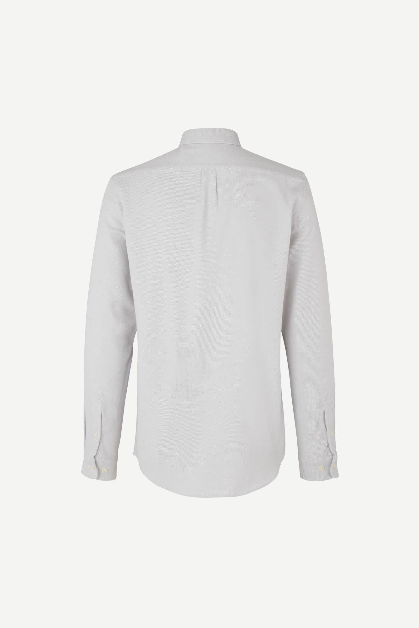 Liam NF Shirt Wind Chime Grey Melange-2