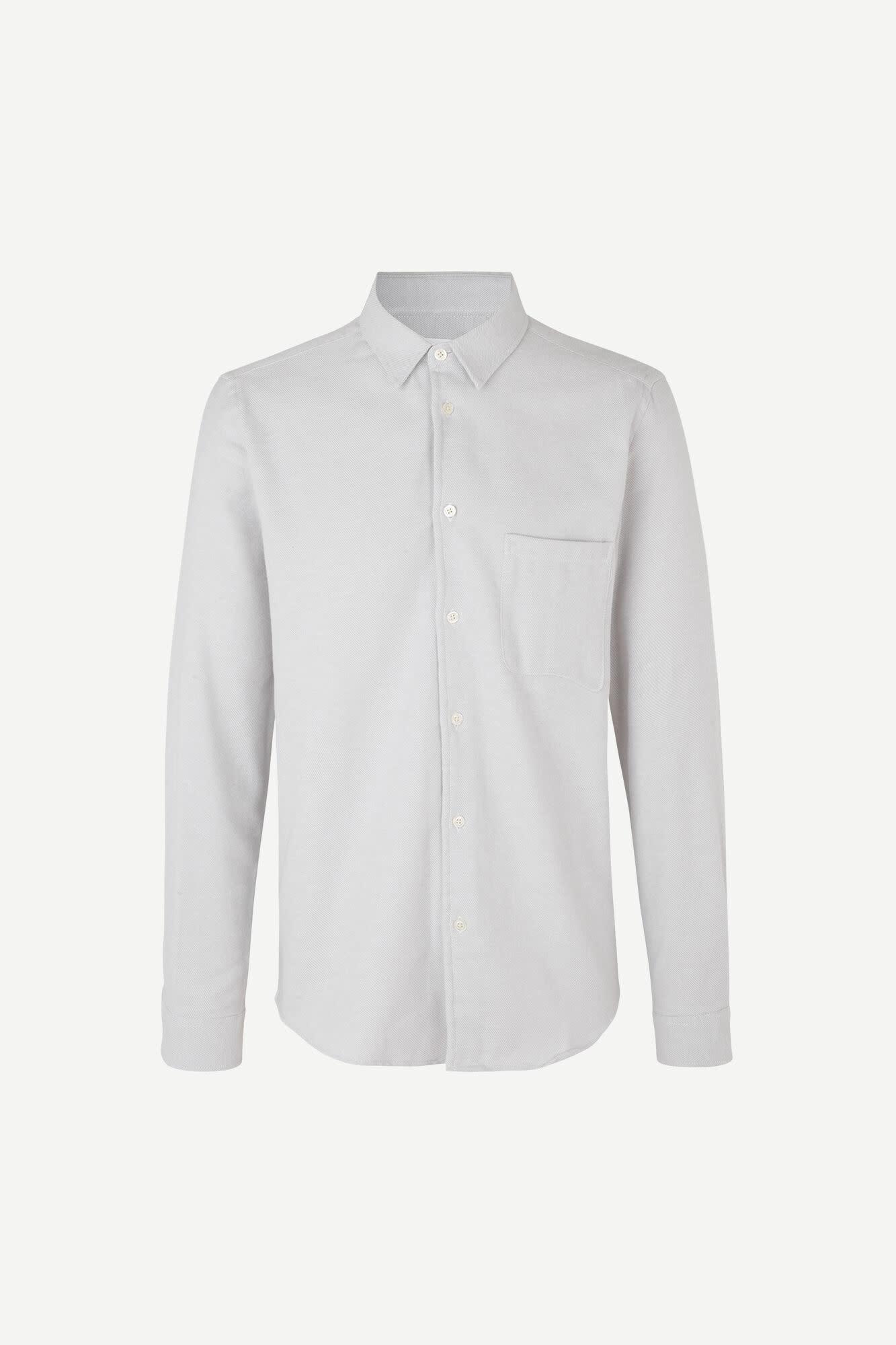Liam NF Shirt Wind Chime Grey Melange-1