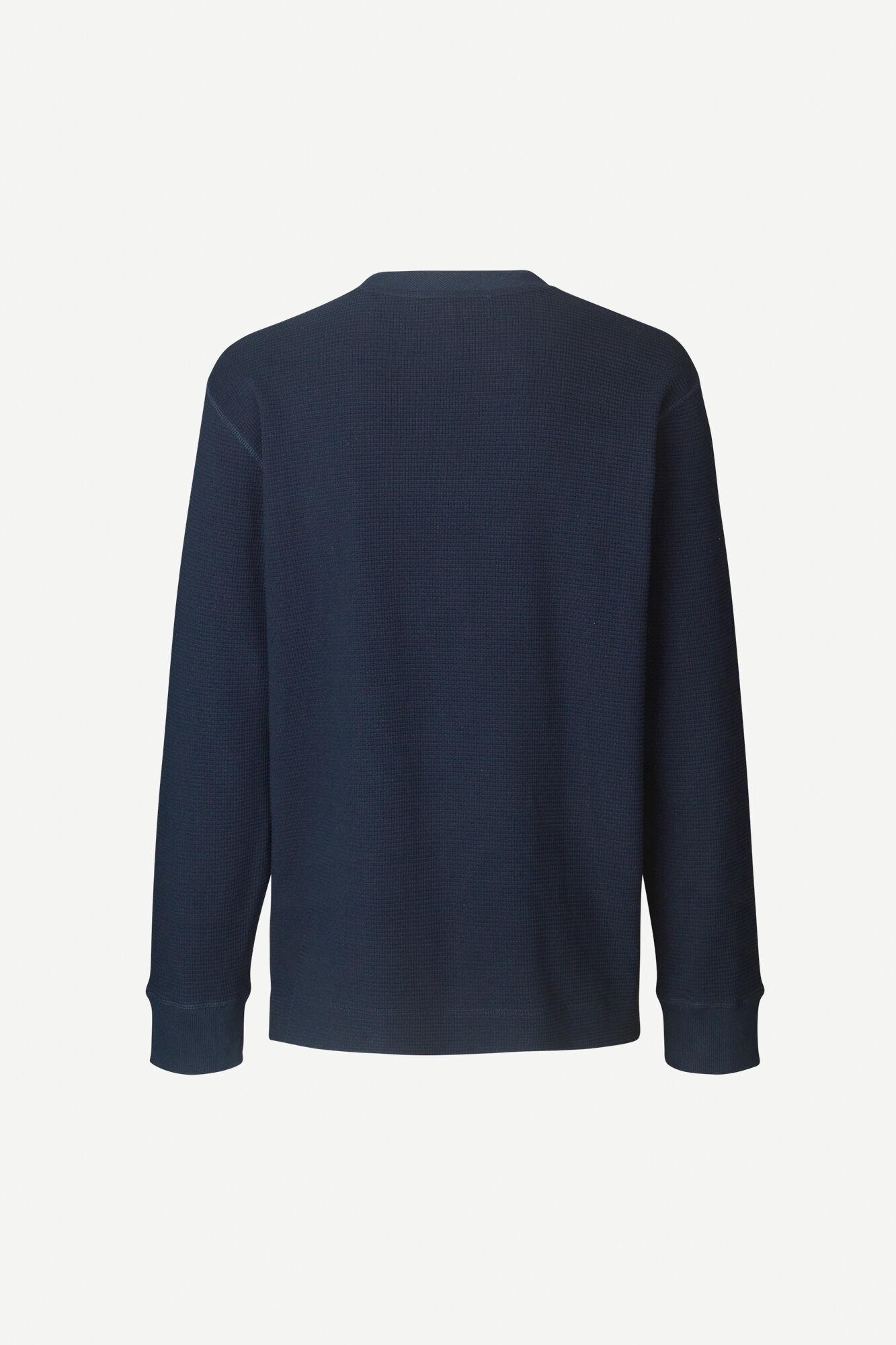 Adhil Box Fit Longsleeve T-Shirt Sky Blue 11696-2