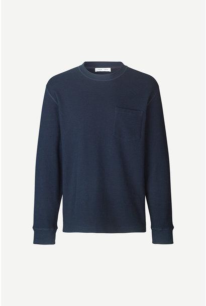 Adhil Box Fit Longsleeve T-Shirt Sky Blue