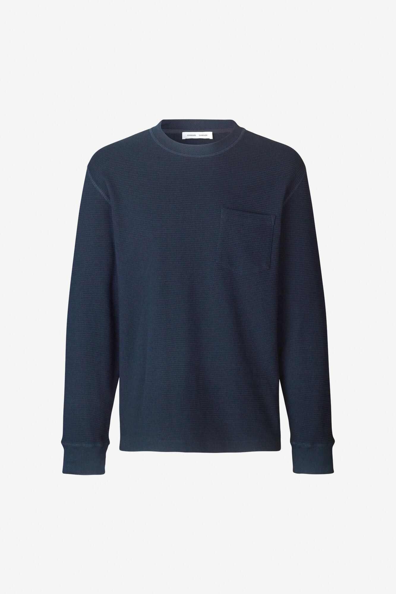 Adhil Box Fit Longsleeve T-Shirt Sky Blue 11696-1