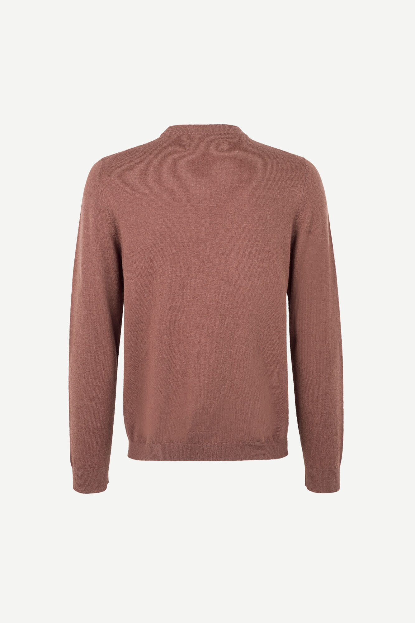 Gees O-N 132 Cinnamon Brown Wool Jumper-2