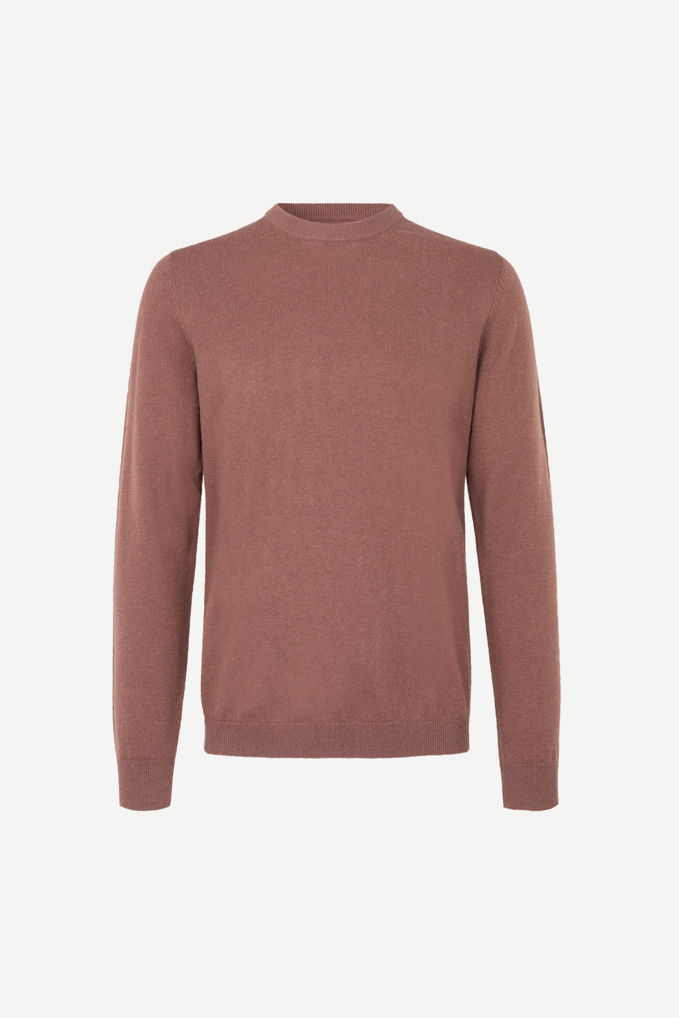 Gees O-N 132 Cinnamon Brown Wool Jumper-1