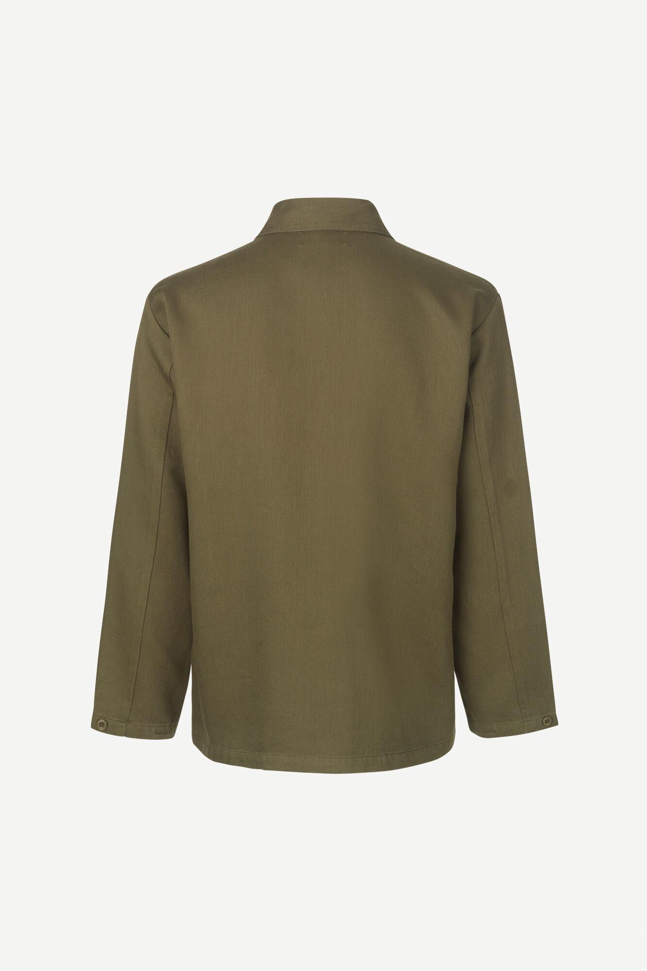 Vega Dark Olive Overshirt 12804-3