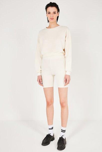 Narabird Ecru White Sweatshirt