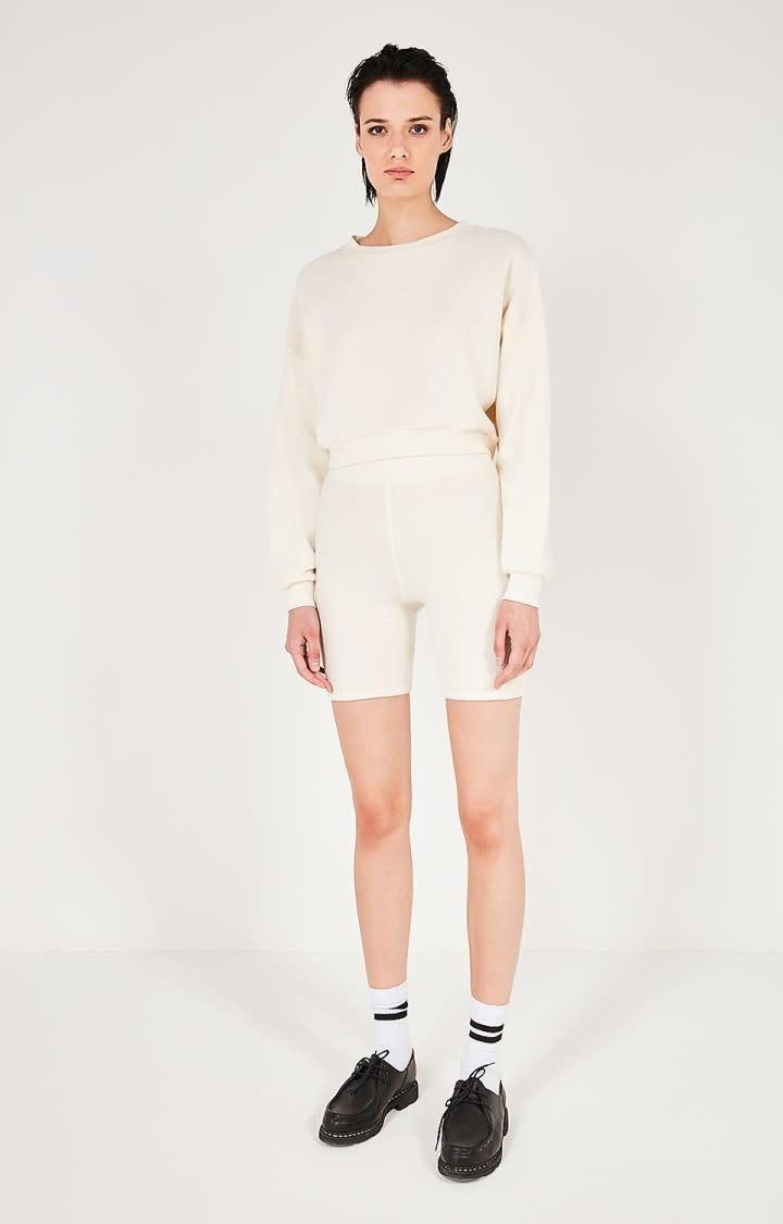 Narabird Ecru White Sweatshirt-1