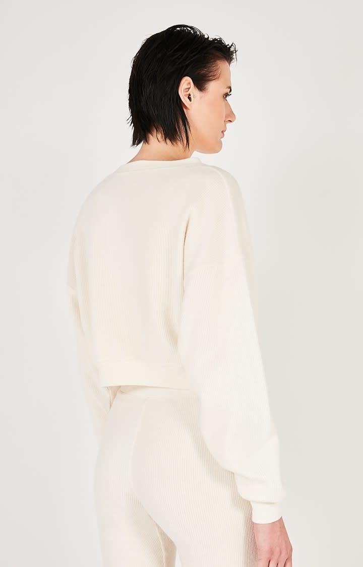 Narabird Ecru White Sweatshirt-2