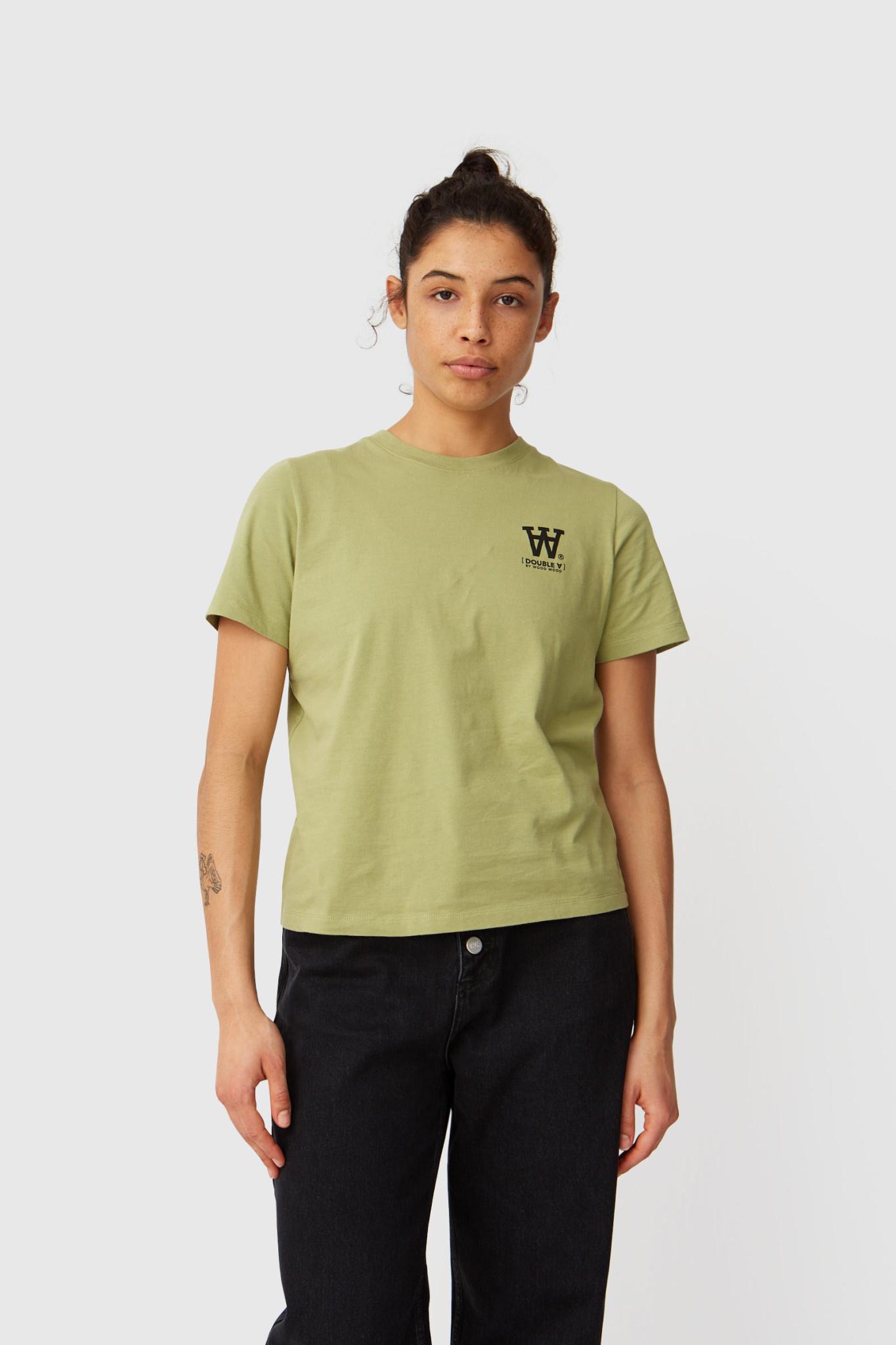 Mia Olive Green T-Shirt-1