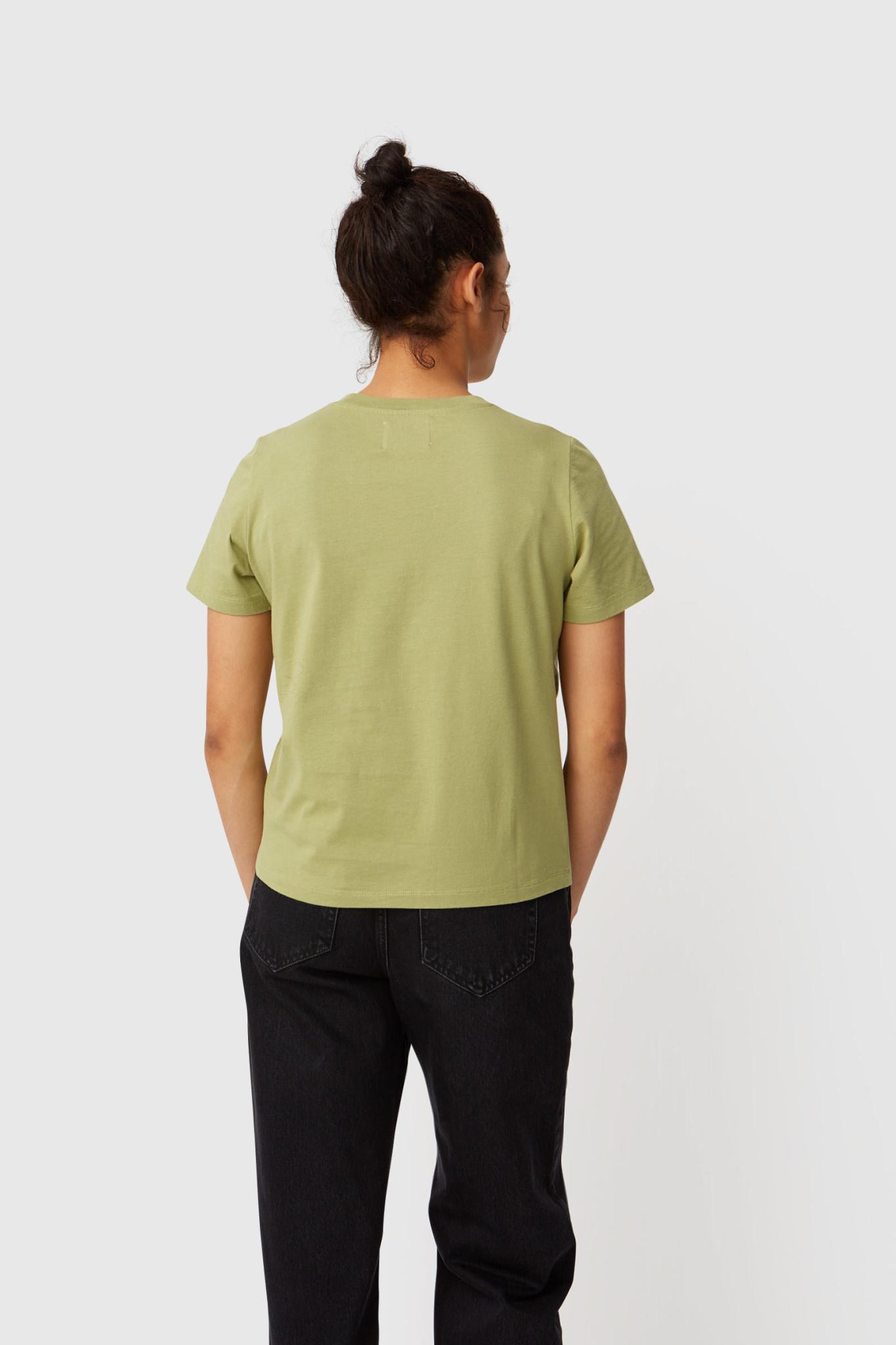 Mia Olive Green T-Shirt-3