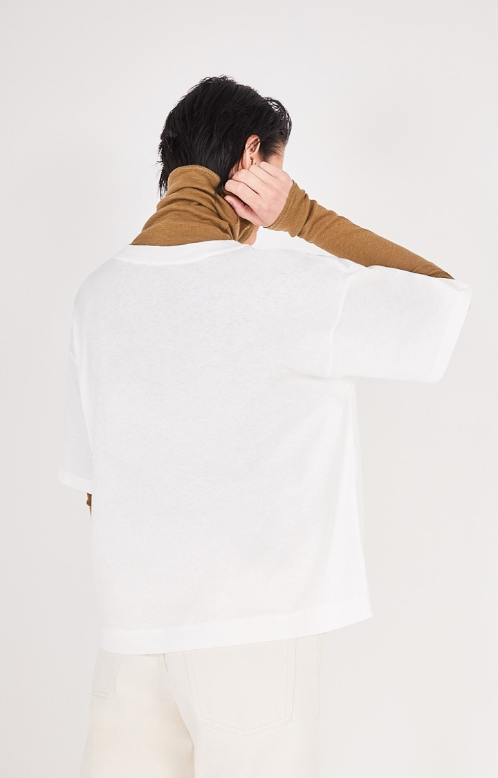 Fakobay Oversized White T-Shirt-3
