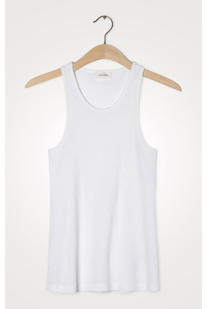 Ikikiss Cotton Tank Top White