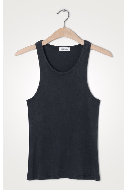 Ikikiss Cotton Tank Top Carbon Black