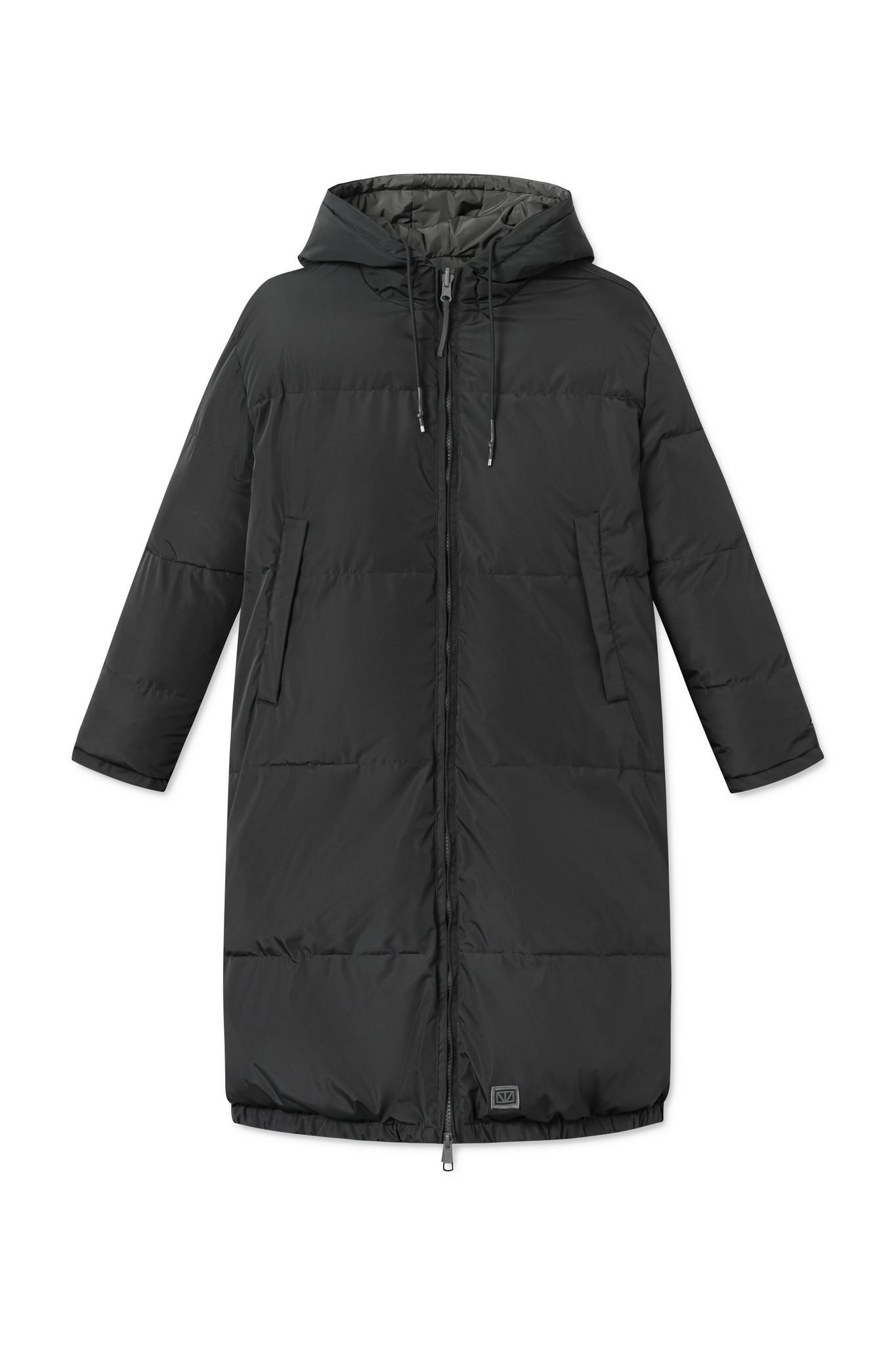Rhymes Reversible Puffer Jacket Black Olive-3