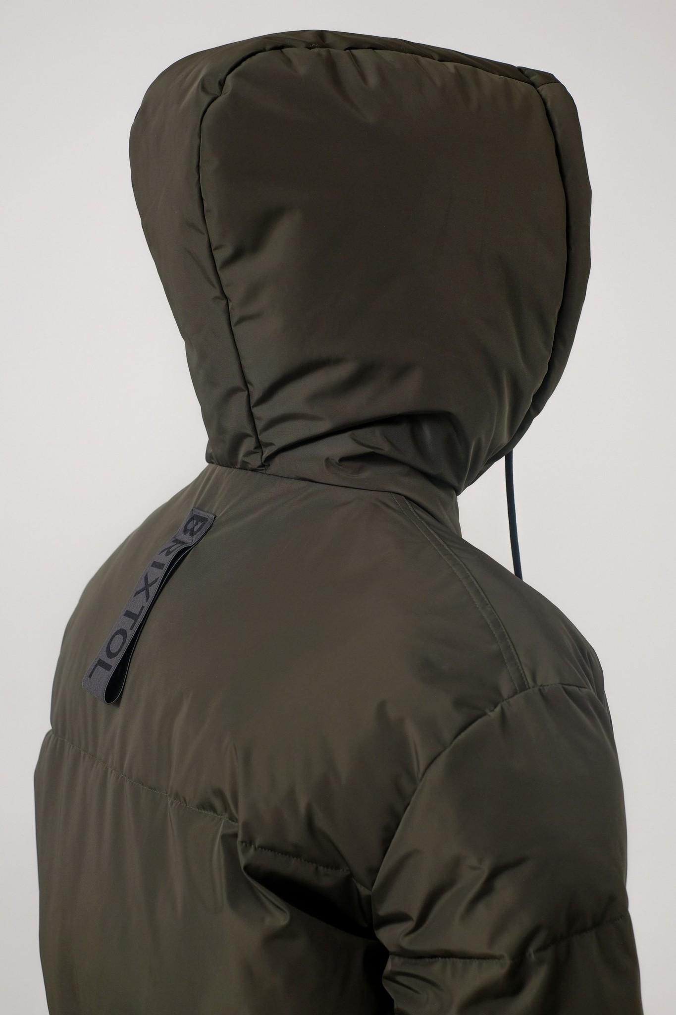 Rhymes Reversible Puffer Jacket Black Olive-5