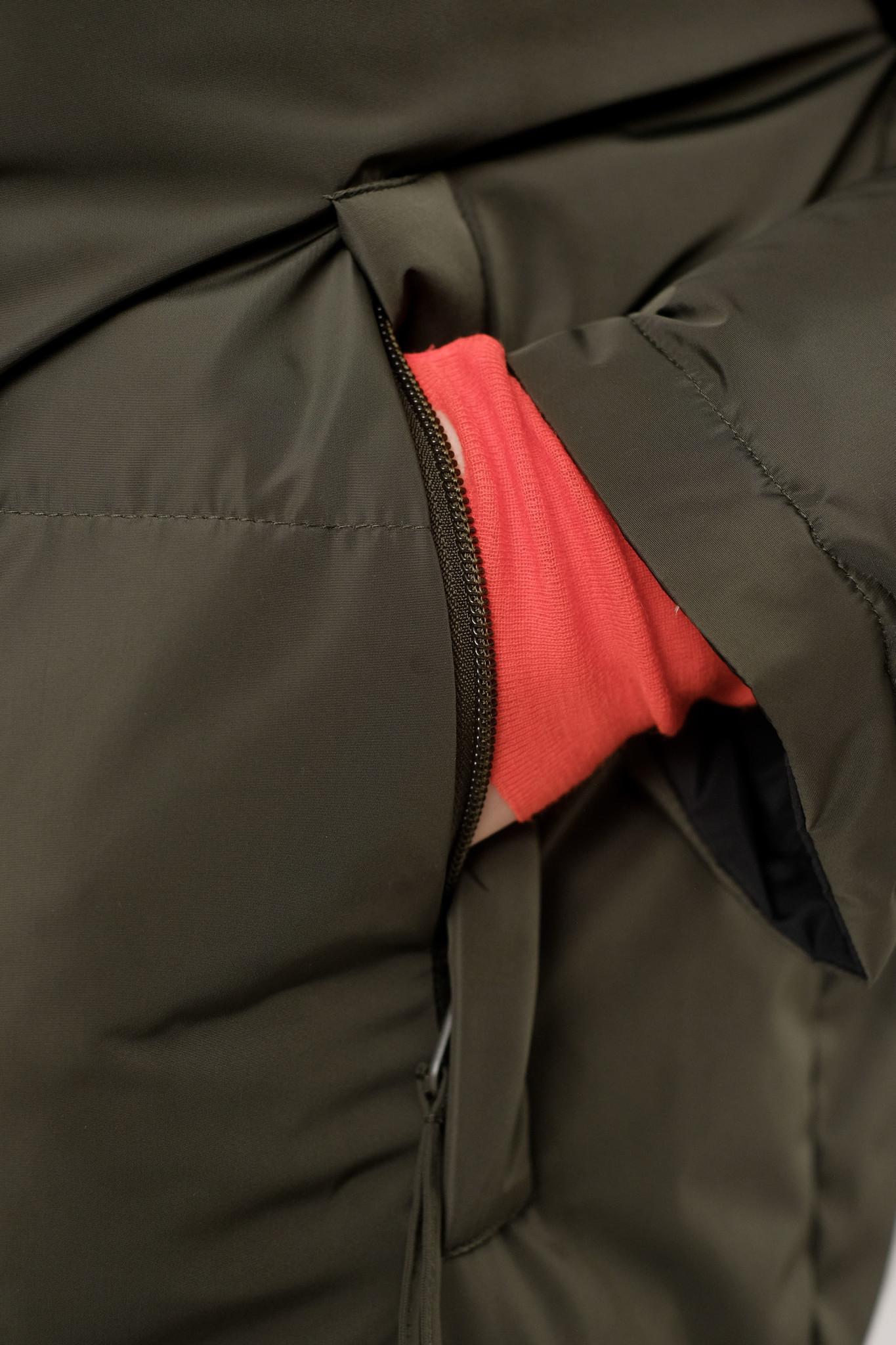 Rhymes Reversible Puffer Jacket Black Olive-4
