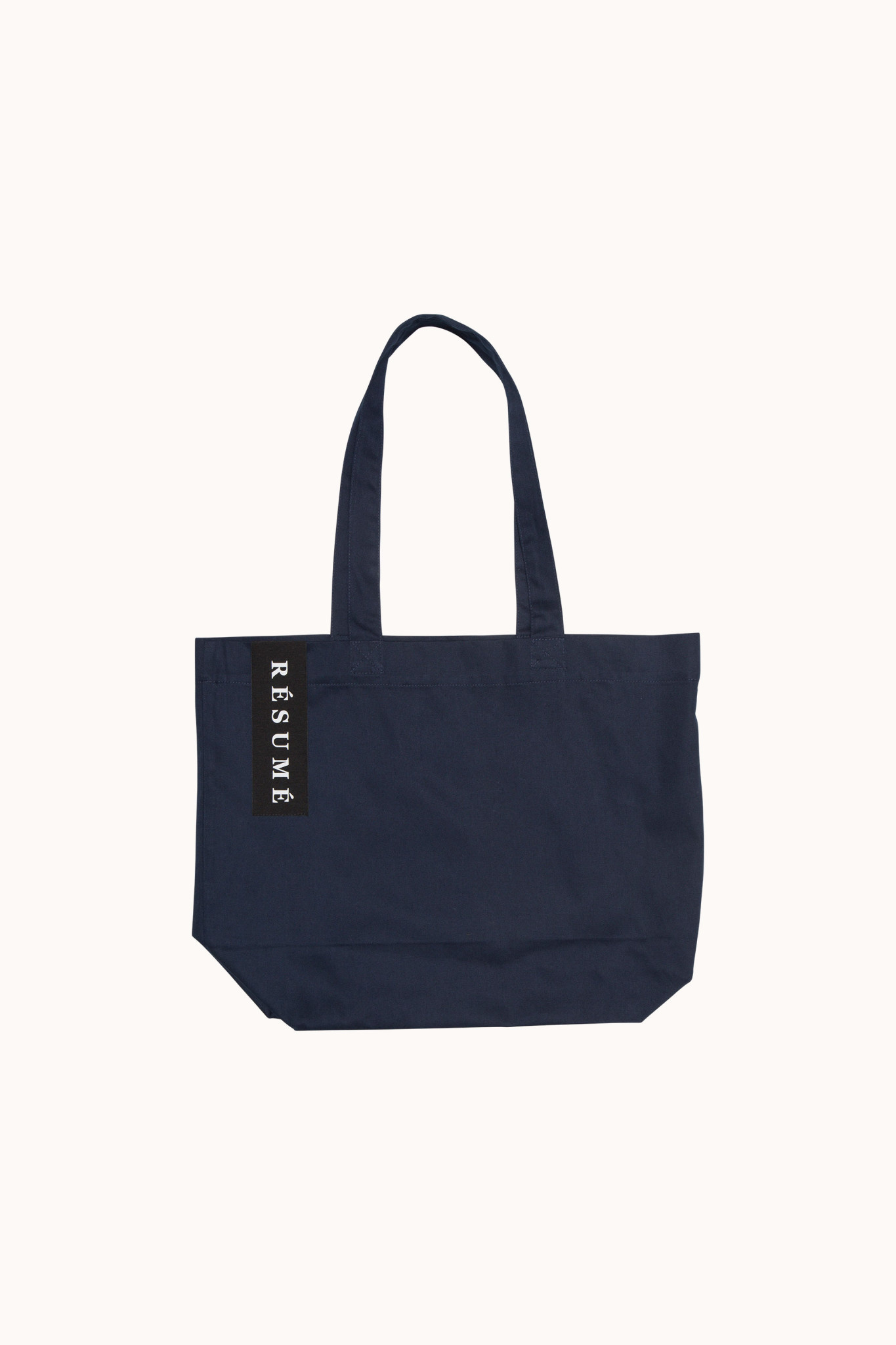 Utana Cotton Tote Bag Navy-1