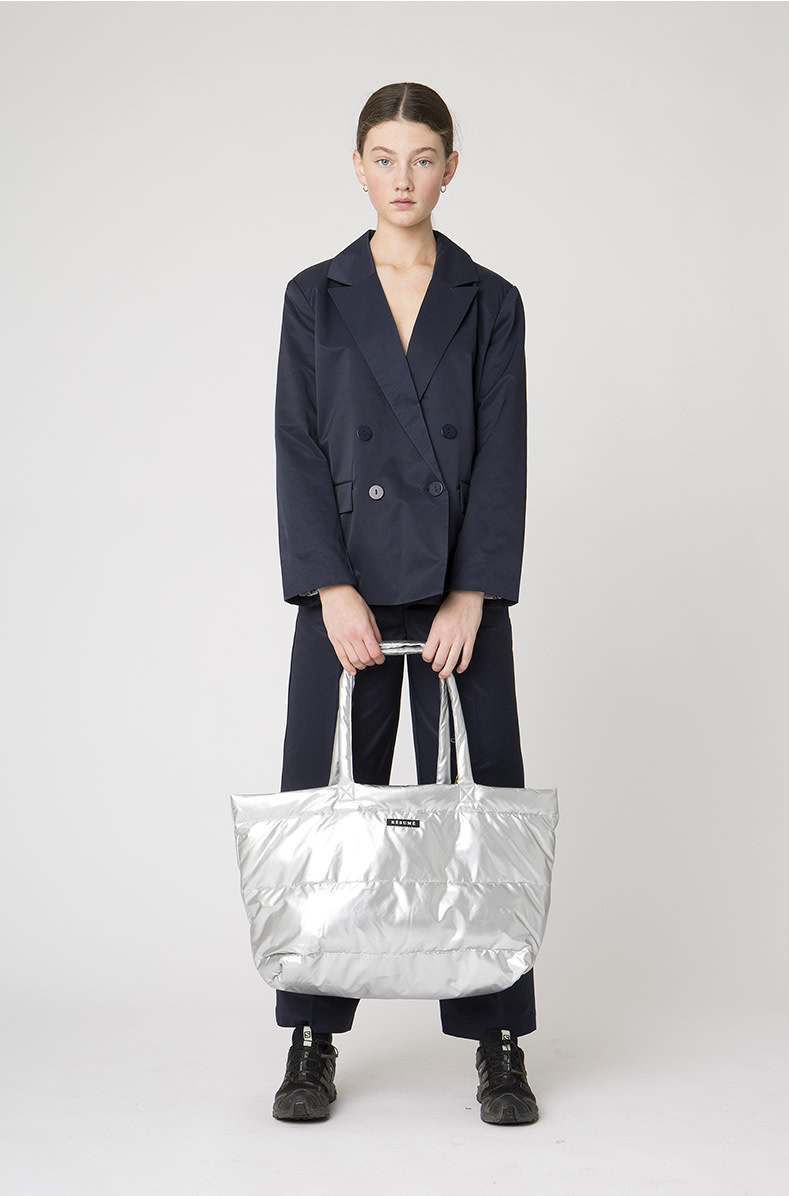 Amor Padding Bag Zilver-2