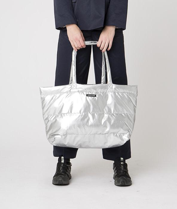 Amor Padding Bag Zilver-1