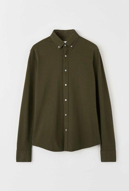 Fenald Pique Shirt Kalamata Green