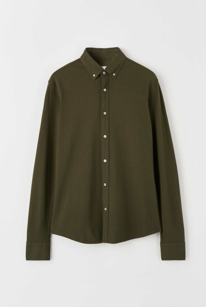 Fenald Pique Shirt Kalamata Groen