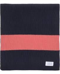 Aspen Dark Navy Wool Scarf-2