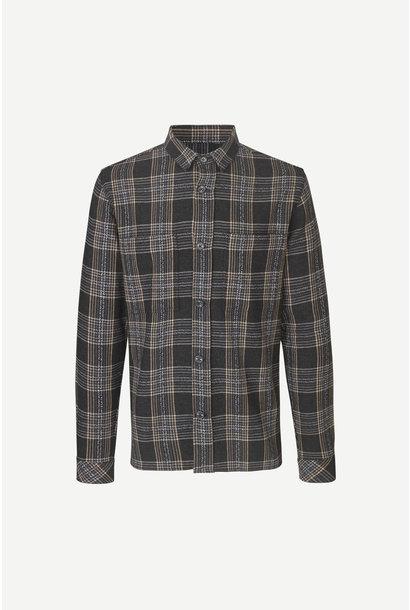 Waltones O Overshirt Black Checker  M20400072