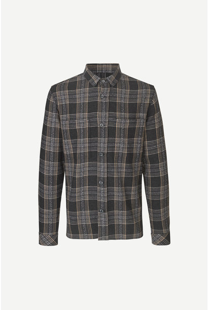 Waltones O Overshirt Black Checker