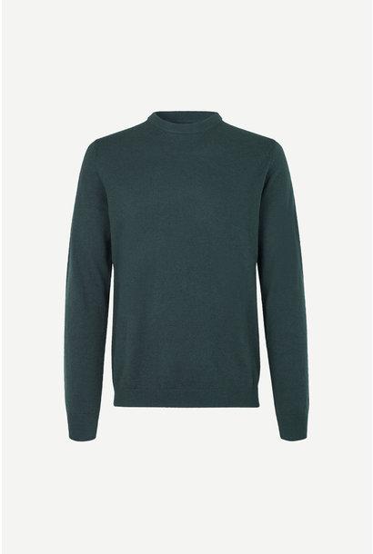 Gees O-N 132 Darkest Spruce Wool Jumper