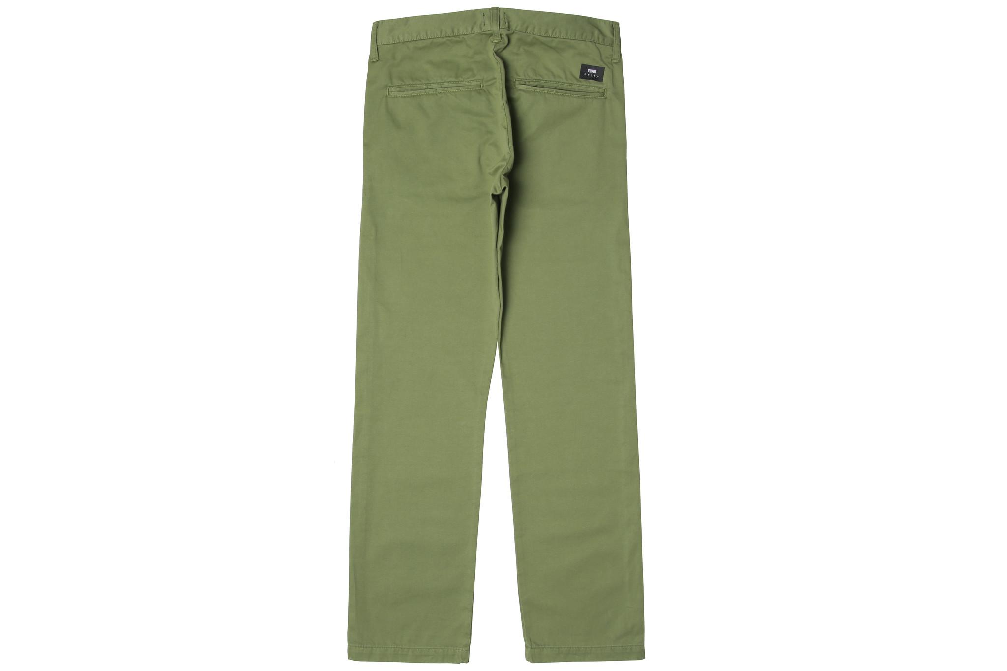 39 Chino PFD Olive Green Compact 9oz Twill-2