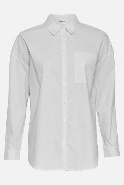 Odine Ava Oversized White Shirt