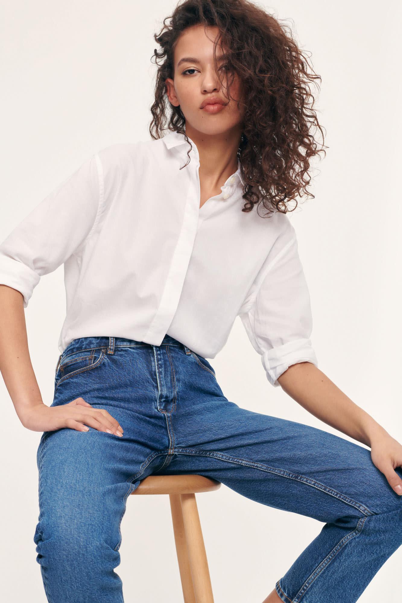 Caico Basic Shirt Wit 2634-2