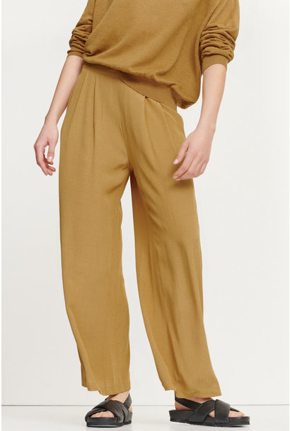 Ganda Loose Trousers Dijon Brown