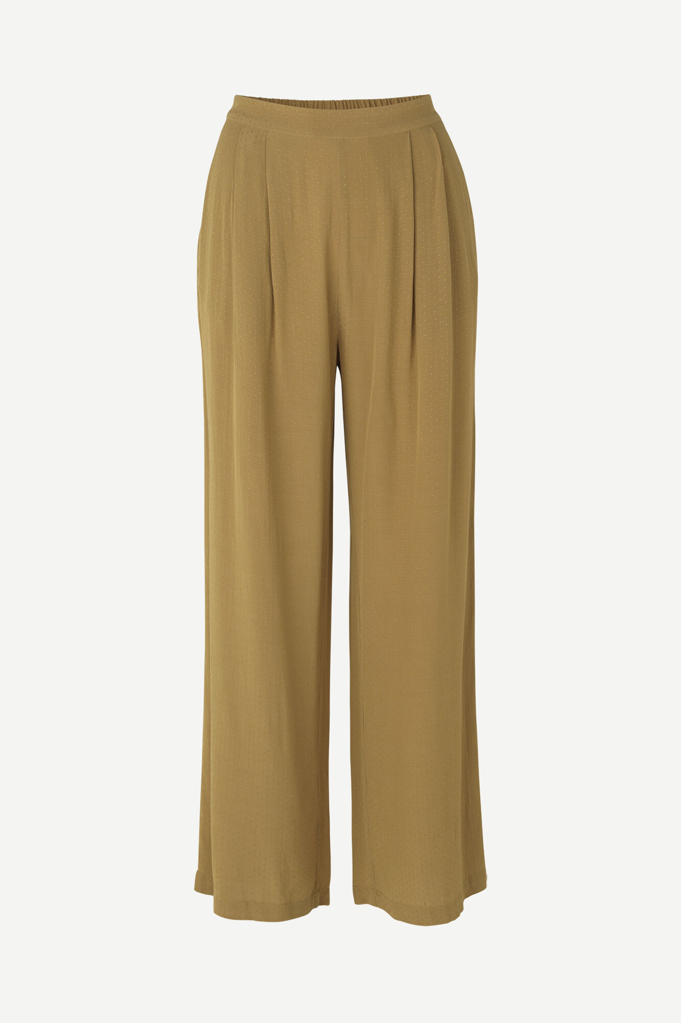 Ganda Loose Trousers Dijon Brown-2