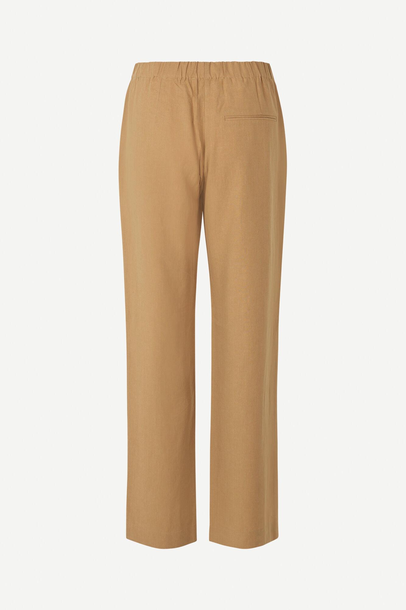 Hoys Straight Pants Dijon Brown 12663-2