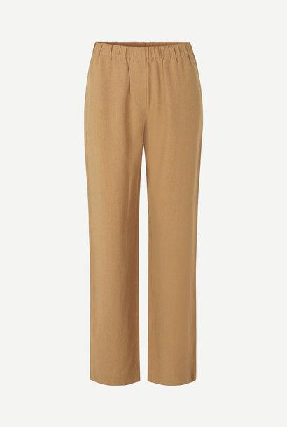 Hoys Straight Pants Dijon Brown