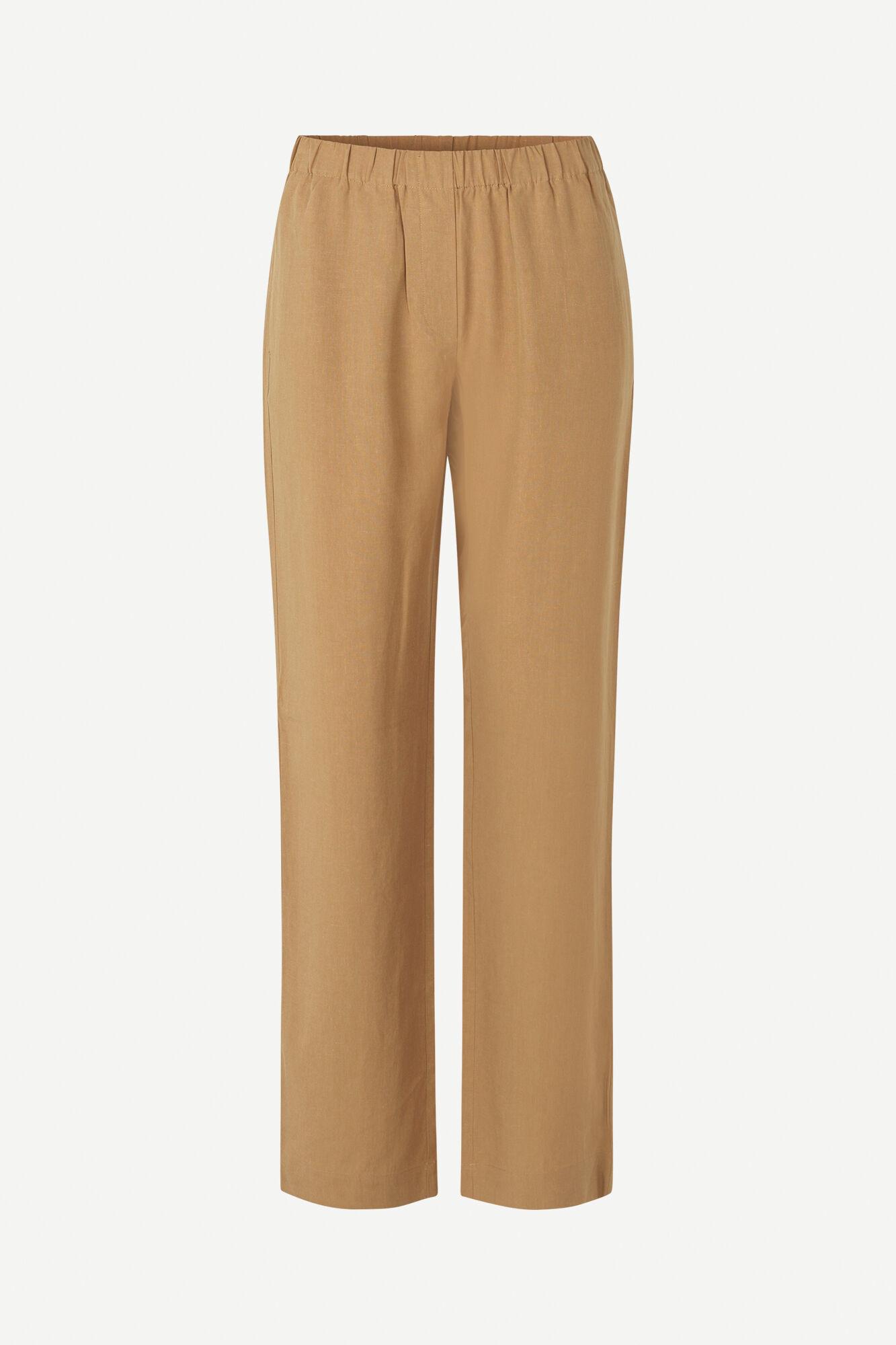 Hoys Straight Pants Dijon Brown 12663-1