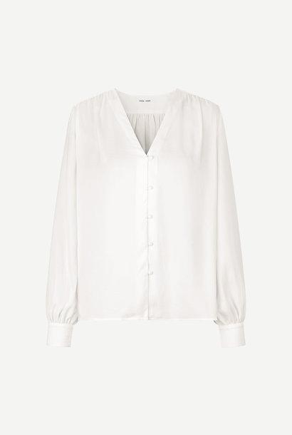 Jetta V Neck Shirt Wisper White
