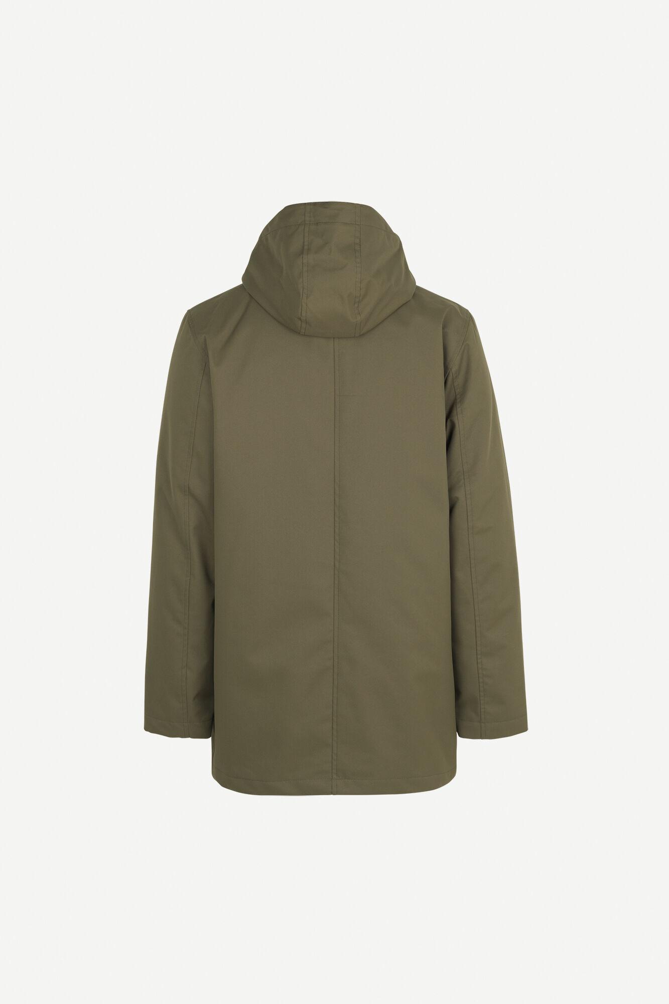 Misam 3 Layer Winter Jacket Green 11234-3