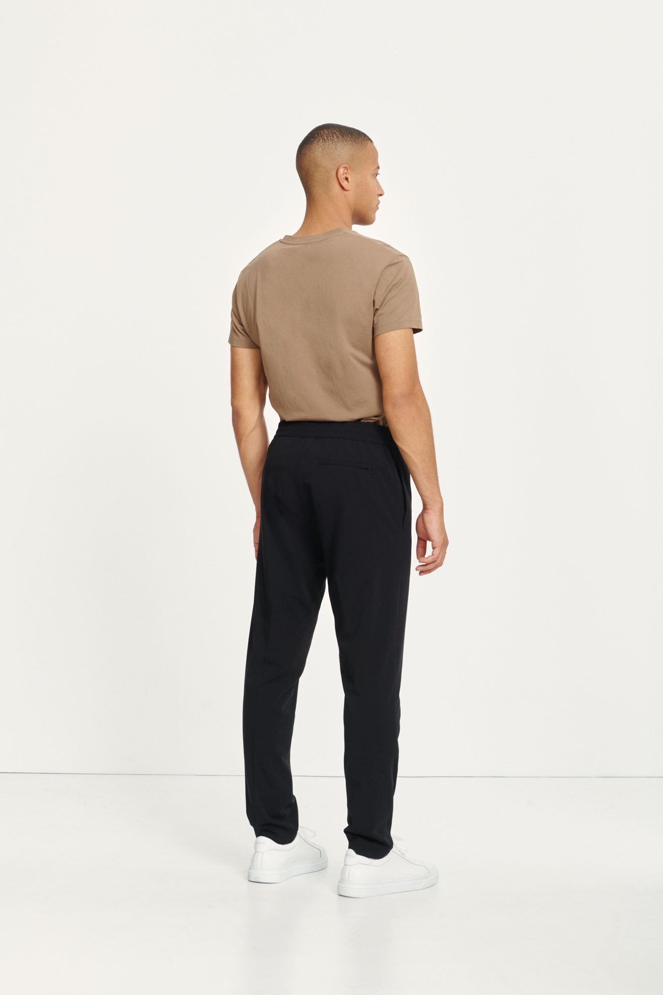 Smithy Relaxed Fit Trouser Black-4